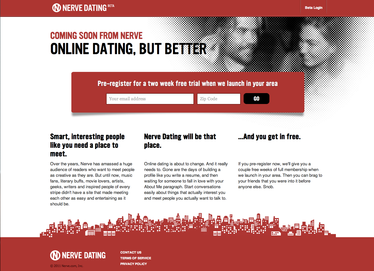 nerve online dating An online dating is free to join for unintrusive flirting and uncompromising dating with singles living in your area compressed nerve in lower back dating site.