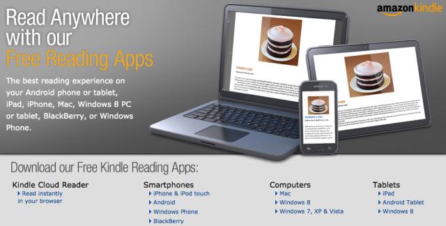 Amazon Free Reading Apps