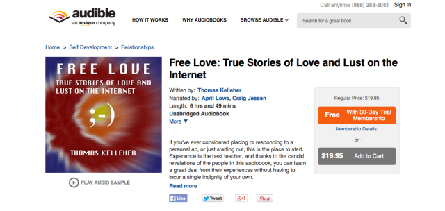 Free Love Audible