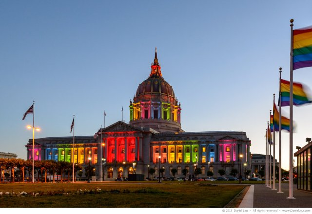 SF_City_Hall_Rainbow